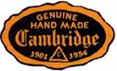 Cambridge Oval Label